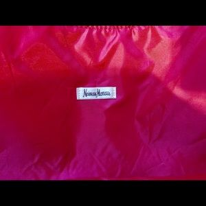 Neiman Marcus Bags - ✨ SALE Neiman Marcus Hot Pink Faux Snake Skin Tote